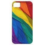Bandera del arco iris iPhone 5 fundas