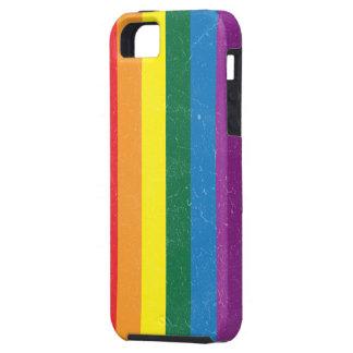Bandera del arco iris - movimiento de LGBT iPhone 5 Coberturas
