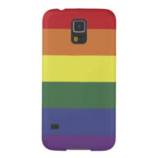Bandera del arco iris - orgullo fundas para galaxy s5