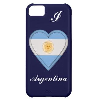 Bandera del argentino de la Argentina Funda Para iPhone 5C