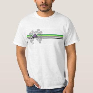 Bandera del aro de Geebot y camiseta de la luz de