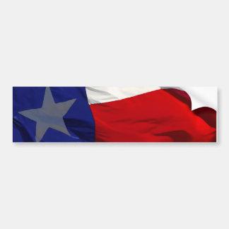 Bandera del arte pop de Tejas Pegatina Para Auto