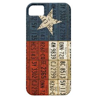 Bandera del arte solitario de la placa del estado  iPhone 5 Case-Mate carcasa
