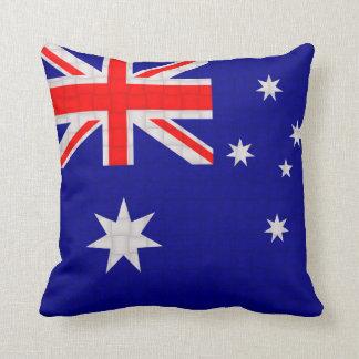 Bandera del australiano de Australia Cojín Decorativo