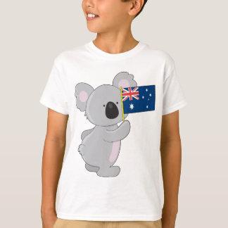 Bandera del australiano de la koala playera
