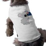Bandera del australiano de la koala camiseta de perro