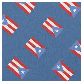 Bandera del azul de Puerto Rico Telas