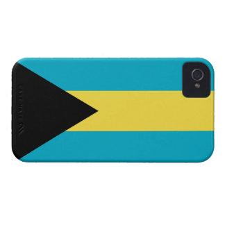 Bandera del Bahamian de Bahamas iPhone 4 Cobertura