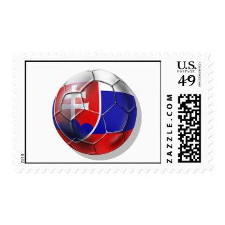 Bandera del balón de fútbol de Eslovaquia de los Sello