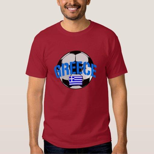 Bandera del balón de fútbol de Grecia de los Remeras