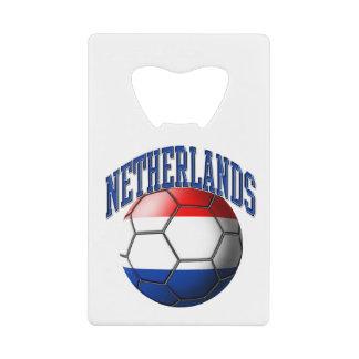 Bandera del balón de fútbol holandés