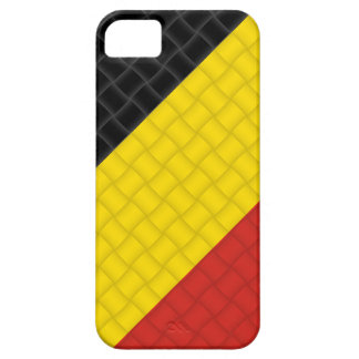 Bandera del belga de Bélgica iPhone 5 Fundas