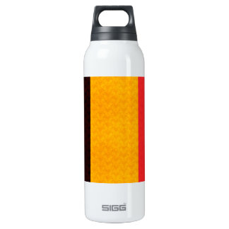 Bandera del belga del modelo del vintage botella isotérmica de agua