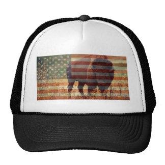 Bandera del bisonte gorro