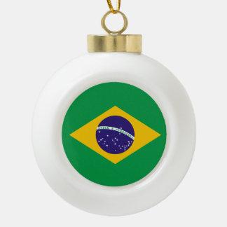 Bandera del Brasil Adorno