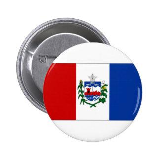 Bandera del Brasil Alagoas Pin Redondo 5 Cm