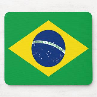 Bandera del Brasil Alfombrillas De Ratón