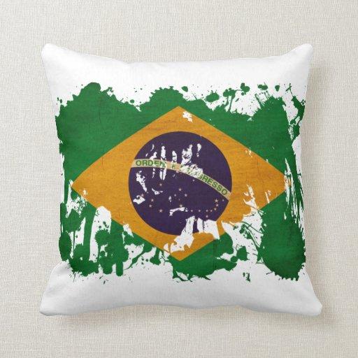 Bandera del Brasil Almohada