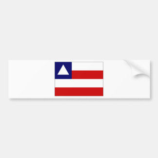 Bandera del Brasil Bahía Etiqueta De Parachoque