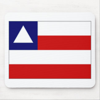 Bandera del Brasil Bahía Alfombrillas De Ratón