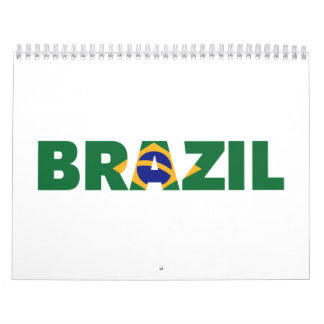 Bandera del Brasil Calendario