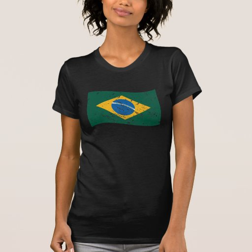 Bandera del Brasil Camiseta