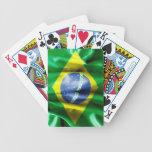 Bandera del Brasil Cartas De Juego