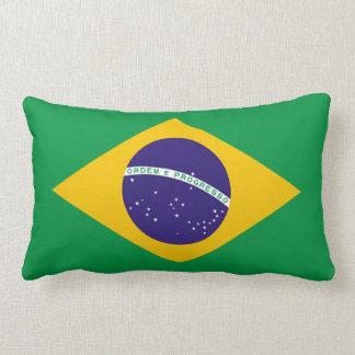 Bandera del Brasil del brasilen@o del Brasil Cojín Lumbar