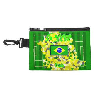 Bandera del Brasil del equipo de fútbol