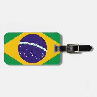 Bandera del Brasil Etiquetas Maletas