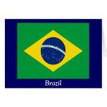 Bandera del Brasil Felicitación
