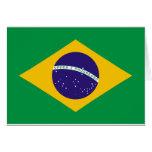 Bandera del Brasil Felicitacion