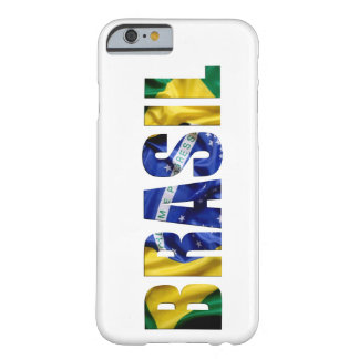 Bandera del Brasil Funda De iPhone 6 Barely There