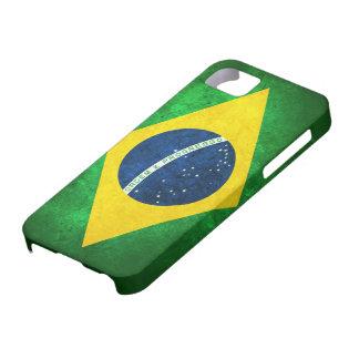Bandera del Brasil Funda Para iPhone 5 Barely There
