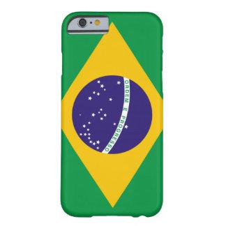 Bandera del Brasil Funda Para iPhone 6 Barely There