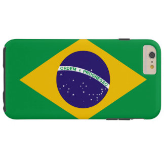 Bandera del Brasil Funda Para iPhone 6 Plus Tough