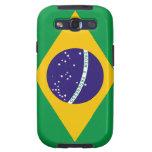 Bandera del Brasil Galaxy SIII Funda