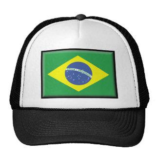 Bandera del Brasil Gorras