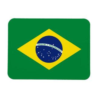 Bandera del Brasil Imán De Vinilo