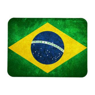 Bandera del Brasil Imán Foto Rectangular