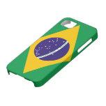 Bandera del Brasil iPhone 5 Cárcasa
