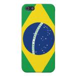 Bandera del Brasil iPhone 5 Carcasas