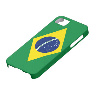 Bandera del Brasil iPhone 5 Funda