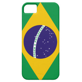 Bandera del Brasil iPhone 5 Fundas