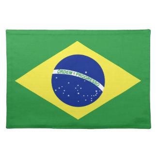 Bandera del Brasil Manteles