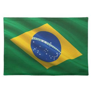 Bandera del Brasil Manteles Individuales