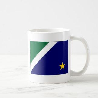 Bandera del Brasil Mato Grosso del Sur Taza