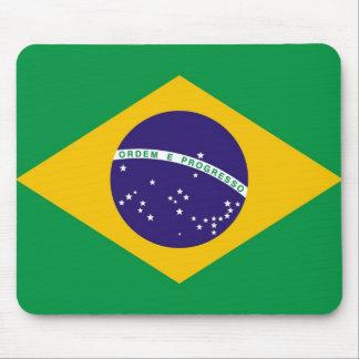 Bandera del Brasil para la moda de Brazillian Alfombrillas De Ratones