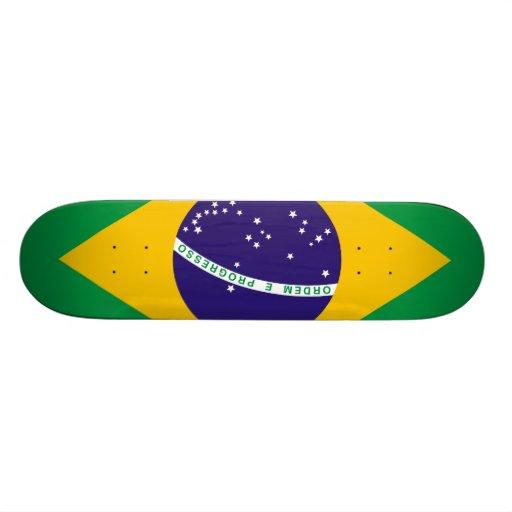 Bandera del Brasil Patín