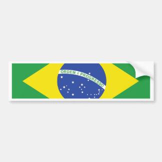 Bandera del Brasil Pegatina Para Auto